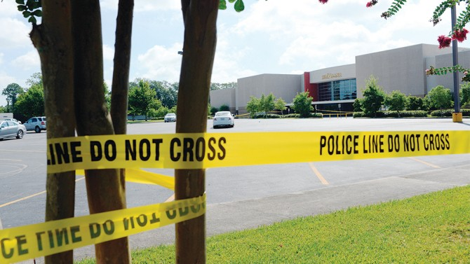 Shooting at Lafayette, La., movie theater