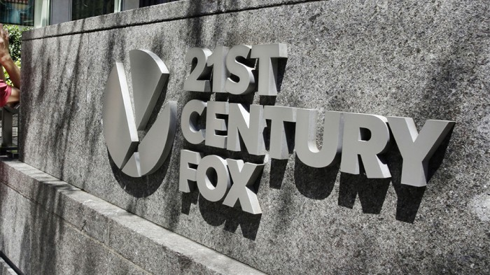 21st Century Fox, New York, USA - 01 Aug 2017