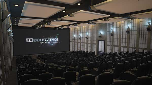 Dolby Atmos room photo