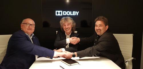 Dolby и «Высшая школа киноинженеров» подписали соглашение о сотрудничестве