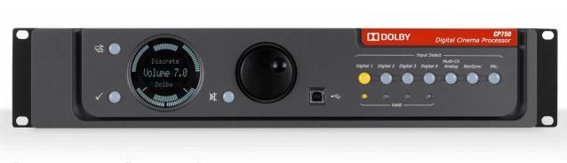 Кинопроцессоры Dolby CP750 и Dolby Atmos CP850