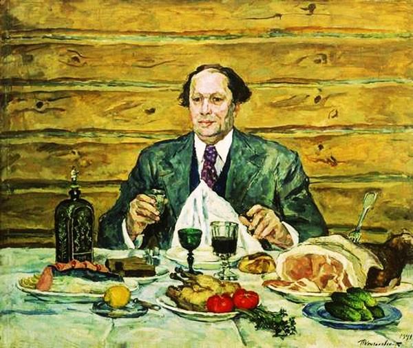 Толстой в гостях у художника