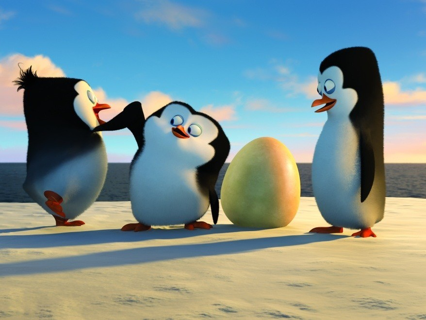 Мадагаскар в картинках пингвины