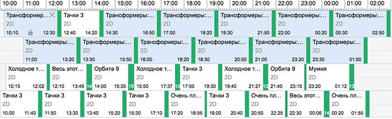 Четырехзальный-кинотеатр