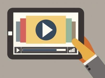 онлайн-видео на планшете