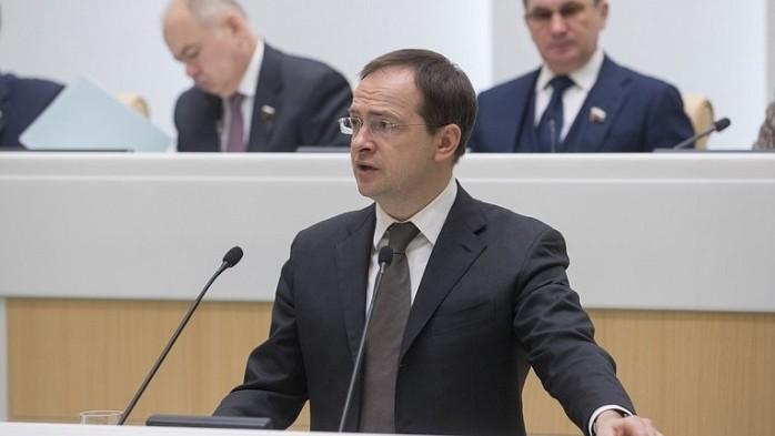 Владимир Мединский в Совете Федерации
