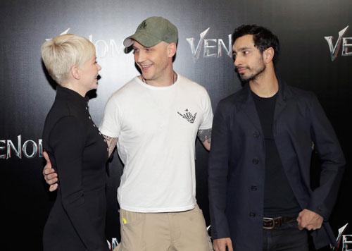 Харди, Уильямс и Ахмед на Cinemacon
