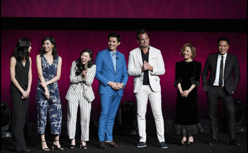 Каст CRAZY RICH ASIANS
