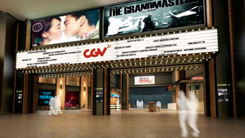 Кинотеатр сети CJ CGV